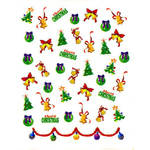 Nail Art Stickers - Christmas #6 - Each (520463)
