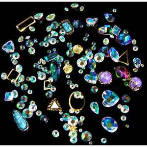 3D Nail Art Rhinestones Set #6 - AB Crystals - Pack (520492)