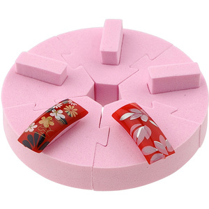 Nail Art Practice Stand - Practice Nail Art Acrylics & Gels - Pink (520513)