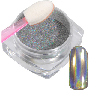 Silver Holographic Nail Powder - Pigment for Holo Chrome Effect - Each (529008)