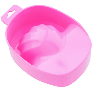 Professional Manicure Bowl - Ergonomic Design - Pink Color - Each (610018)