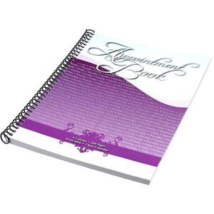 4 Columns Salon Appointment Book - Keeps You Organized - Each (610030)