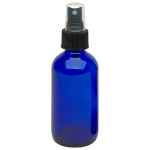 Cobalt Glass Bottle - Lotion Pump 4 oz. (610094)
