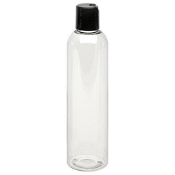 Clear Plastic Bottle - Dispensor 8 oz (610104)