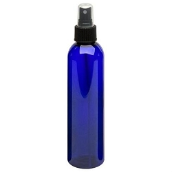 Cobalt Plastic Bottle - Spray 8 oz (610108)