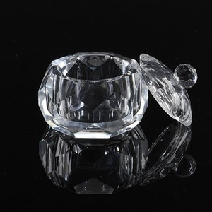 Crystal Glass Containers - Medium (610153)