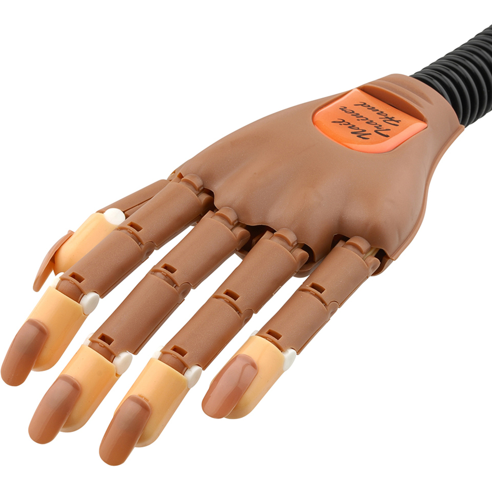 ProTool Practice Nail Trainer Hand - Moveable Fingers - Flexible Arm ...