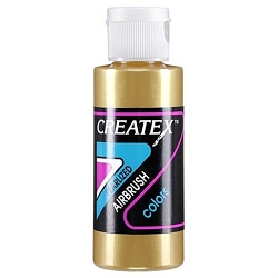Createx Airbrush Paint - Pearl Gold 2 oz. (C5307)