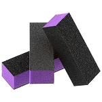 3 Way UK Nail Buffing Block - Purple (BUP)