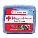 Portable Travel First Aid Kit 70 Pieces Plastic Case (JOJ8274)