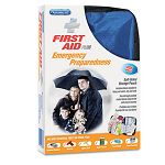 Soft Sided First Aid Kit Plus Emergency Preparedness Items 105 Pieces (ACM90168)