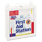 First Aid Station for 50 People 196 Pieces OSHA Compliant Metal Case (FAO226U)
