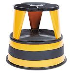 "Kik-Step Two-Step Steel Step Stool 14"" high 500lb Duty Rating Orange (CRA100130)"