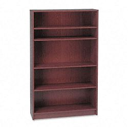 1870 Series Bookcase 5 Shelves 36w x 11-12d x 60-18h Mahogany (HON1875N)