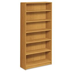 1890 Series Bookcase 6 Shelves 36w x 11-12d x 72-58h Harvest (HON1896C)