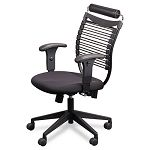 Seatflex Series SwivelTilt Executive Chair wHeadrest Black (BLT34449)
