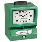 Model 125 Analog Manual Print Time Clock with MonthDate0-23 HoursMinutes (ACP011070413)