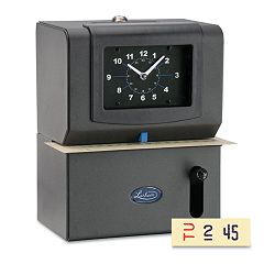 Heavy Duty Time Clock Mechanical Charcoal (LTH2121)