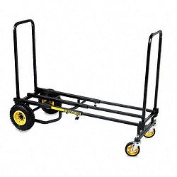 Multi Cart 8-in-1 Equipment Cart 500lb Capacity 18 x 33-12 x 42-12 Black (AVT86201)
