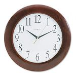 Corporate Wall Clock 12-34in Cherry (MIL625214)