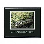 """Communication"" Framed Motivational Print 30 x 24 (AVT78026)"