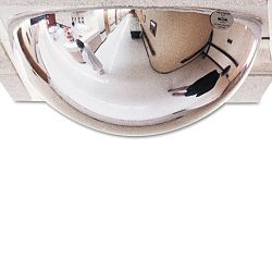 "T-Bar Dome Security Mirror 24"" dia. (SEEPVTBAR2X2)"