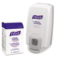 NXT SPACE SAVER Hand Sanitizer Dispenser & Refill (GOJ2156D1)