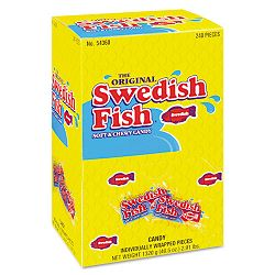 Swedish Fish Grab-and-Go Candy Snacks In Reception Box 240 Pieces per Box (CDB43146)