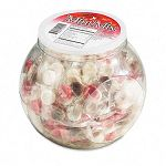 Mint Mix Assortment - CinnamonChocolateWintergreenPeppermint - Individually Wrapped 375 per Jar (OFX00001)