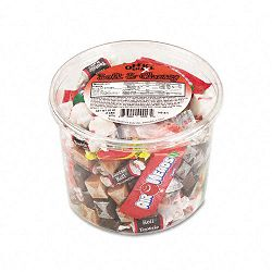Soft & Chewy Mix Assorted Soft Candy 2 Lb. Plastic Tub (OFX00013)