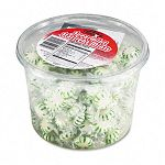 Starlight Mints Spearmint Hard Candy Individually Wrapped 2 Lb. Tub (OFX70005)