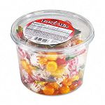 Fancy Assorted Hard Candy Individually Wrapped 2 Lb. Tub (OFX70009)
