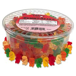 Gummy Bears Assorted Flavors 2 Lb. Tub (OFX70015)