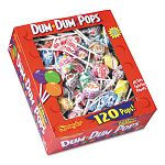Dum-Dum-Pops Assorted Flavors Individually Wrapped 120-Count Box (SPA66)