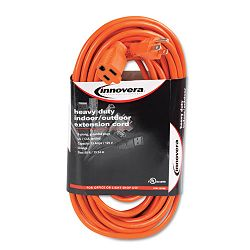 IndoorOutdoor Extension Cord 50 Feet Orange (IVR72250)