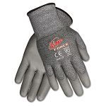 Ninja Force Polyurethane Coated Gloves Small Gray 1 Pair (CRWN9677S)