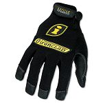 General Utility Spandex Gloves 1 Pair Black Large (IRNGUG04L)