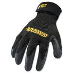 Cut Resistant Stainless Steel Nylon-Mesh Gloves 1 Pair Black X-Large (IRNICR05XL)