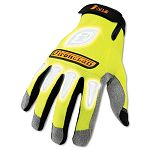 I-Viz Reflective Gloves 1 Pair Fluorescent Green Medium (IRNIVG03M)