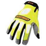 I-Viz Reflective Gloves 1 Pair Fluorescent Green X-Large (IRNIVG05XL)