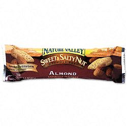 Nature Valley Granola Bars Sweet & Salty Nut Almond Cereal 1.2oz Bar Box of 16 Bars (AVTSN42068)