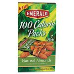 100 Calorie Pack All Natural Almonds .63 oz Packs Box of 7 Packs (DFD34325)