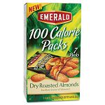100 Calorie Pack Dry Roasted Almonds .63 oz Packs Box of 7 Packs (DFD34895)