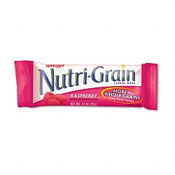 Nutri-Grain Cereal Bars RaspberryIndividually Wrapped 1.3oz Bar Box of 16 Bars (KEB35845)