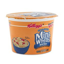 Breakfast Cereal Frosted Mini Wheats Single-Serve Box of 6 Cups (KEB42799)