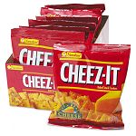 Cheez-It Crackers 1.5oz Single-Serving Snack Pack Box of 8 Packs (KEB12233)