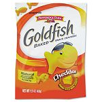 Goldfish Crackers Cheddar Single-Serve Snack 1.5oz Bag Case of 72 Bags (PPF13539)