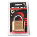 "Resettable Combination Padlock 2"" wide Brass (MLK175D)"
