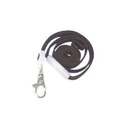 "Deluxe Safety Lanyards Lobster Claw Hook Style 36"" Long Black 24Box (AVT75421)"