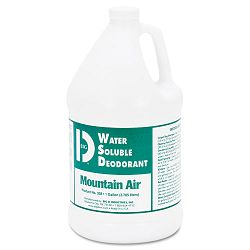 Water Soluble Deodorant Mountain Air 1 Gallon Carton of 4 (BGD1358)